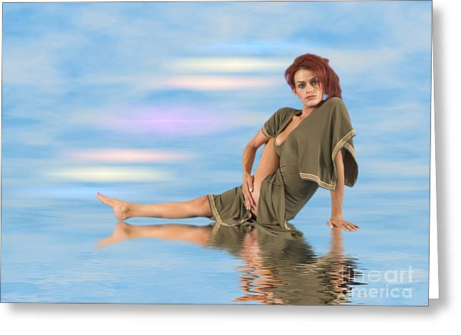 Audrey Michelle 2030221 Greeting Card by Rolf Bertram