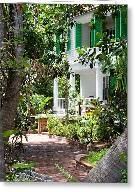 Audubon House Entranceway Greeting Card