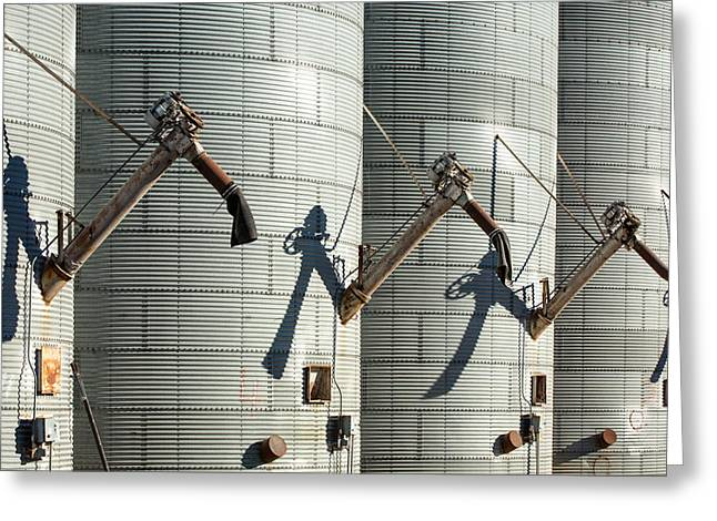 Augers Waiting Greeting Card