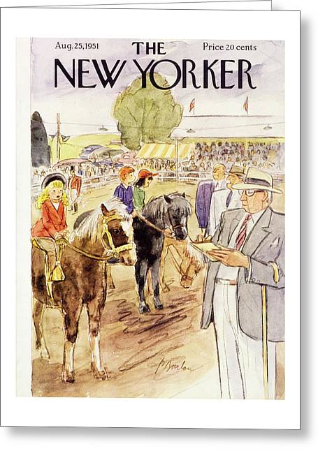 New Yorker August 25 1951 Greeting Card