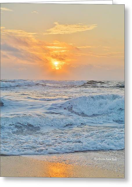 August 28 Sunrise Greeting Card