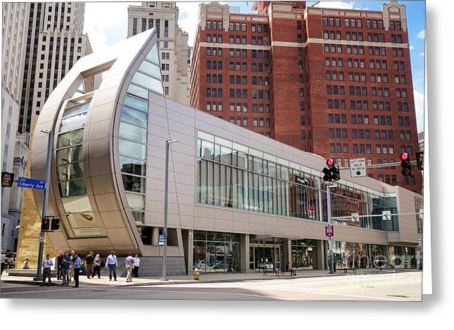 August Wilson Center Greeting Card