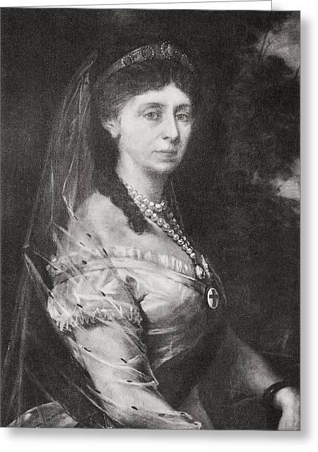 Augusta Of Saxe-weimar-eisenach, 1811 Greeting Card