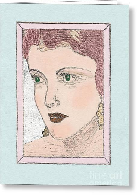 Aunt Edie Greeting Card