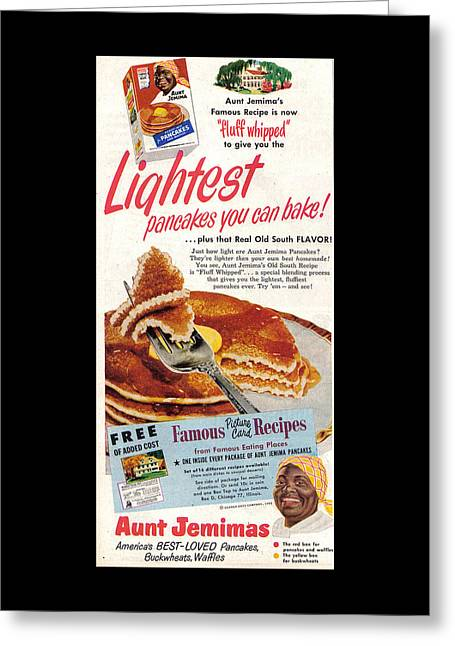 Aunt Jemima Pancakes Greeting Card