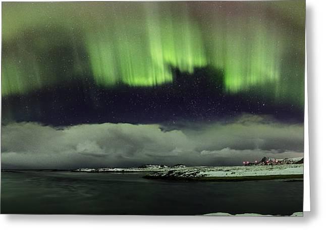 Aurora Polaris Panoramic II Greeting Card