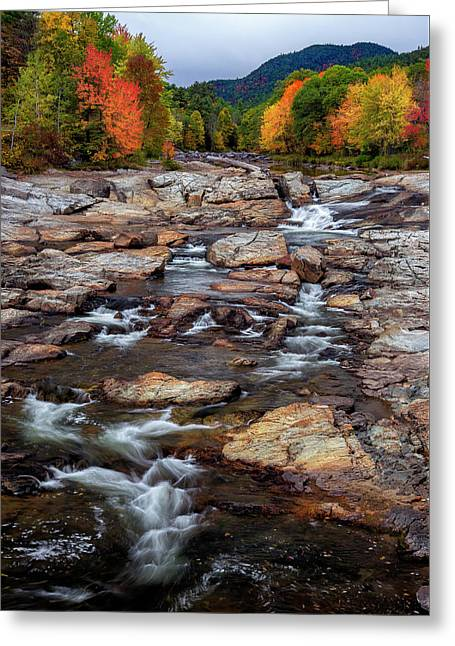 Greeting Card featuring the photograph Ausable by Mark Papke
