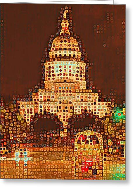 Austin Capitol At Night Greeting Card