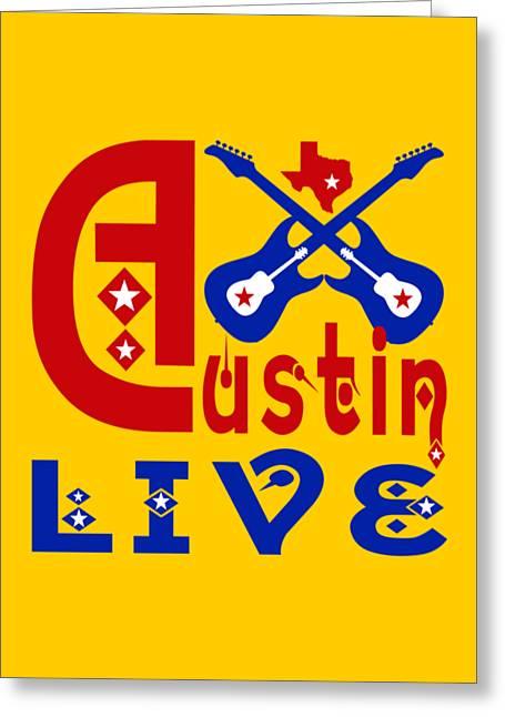 Austin Live Greeting Card