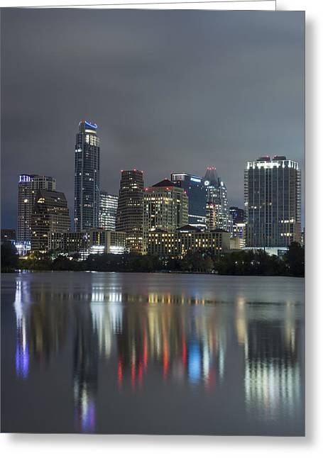 Austin Reflections Greeting Card