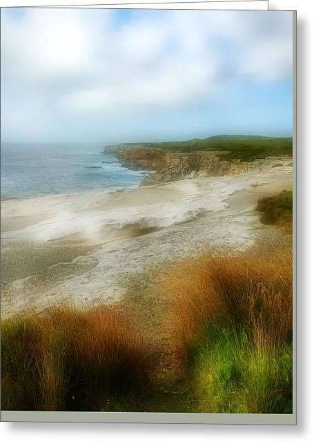 Australia Coastline Greeting Card
