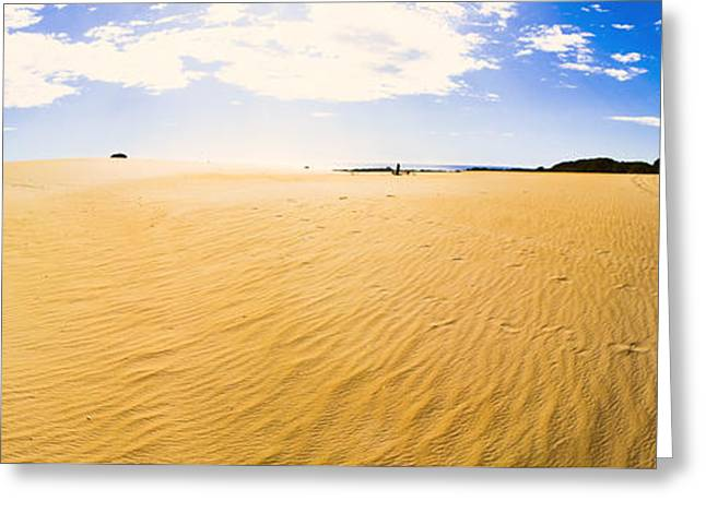 Australia Desert Sand Panorama  Greeting Card