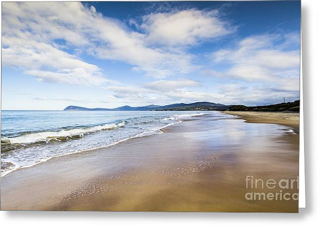 Australian Beach Paradise Greeting Card by Jorgo Photography - Wall Art Gallery