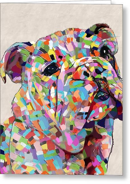 Australian Bulldog  Greeting Card