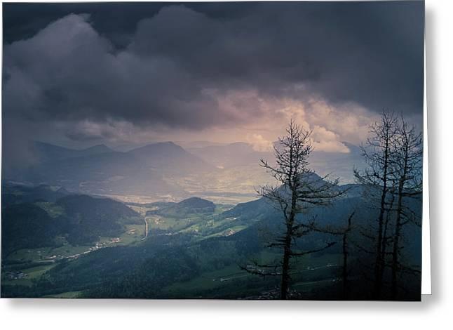 Austrian Alps Greeting Card