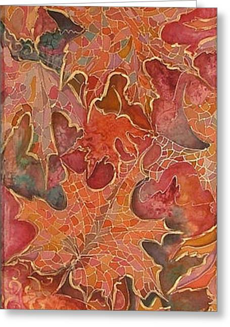 Autmn's Leaves Greeting Card
