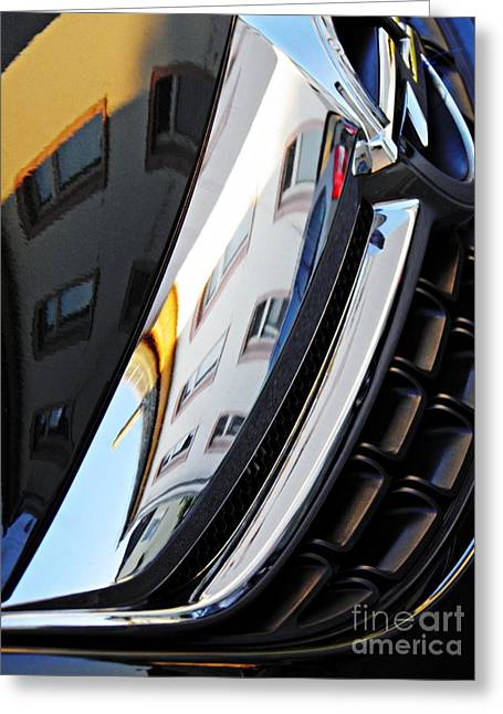 Auto Grill 23 Greeting Card