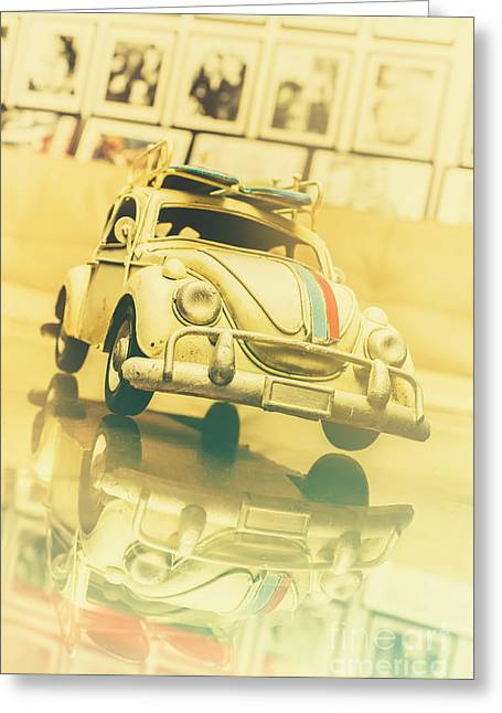 Automotive Memorabilia Greeting Card by Jorgo Photography - Wall Art Gallery