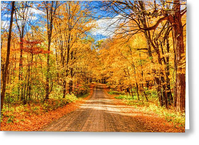 Autum Greeting Card