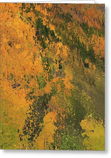 Autumn Abstract Number 3 Greeting Card