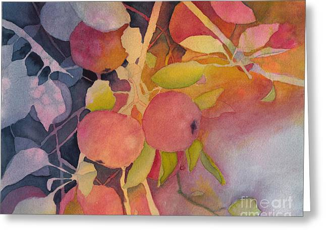 Autumn Apples Greeting Card