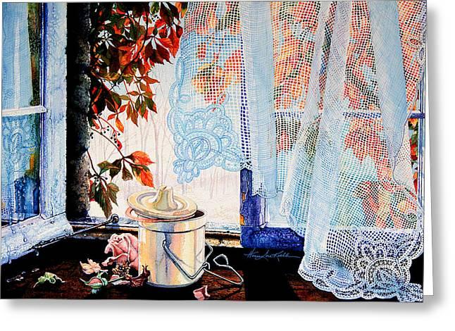 Autumn Aromas Greeting Card by Hanne Lore Koehler