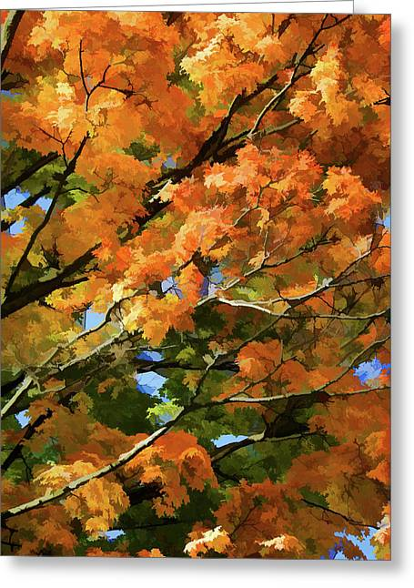 Autumn Greeting Card by Art Spectrum