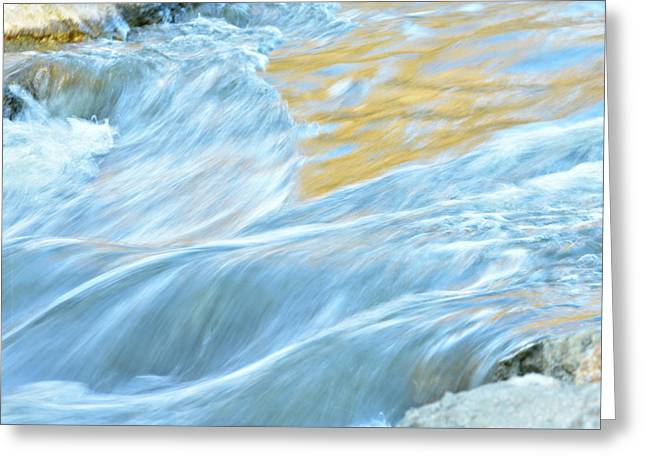 The Flow 2 Greeting Card
