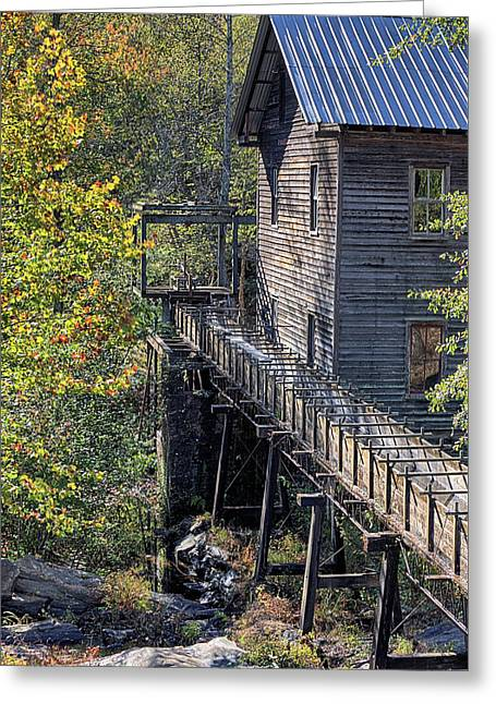 Autumn At Bean's Gristmill  Greeting Card