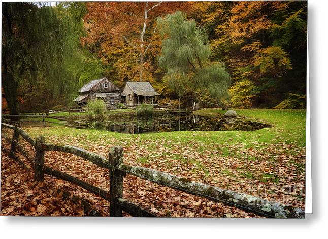 Autumn At Cuttalossa Farm V Greeting Card