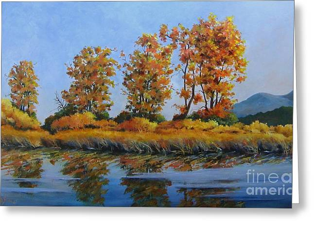 Autumn At Fraser Valley Greeting Card