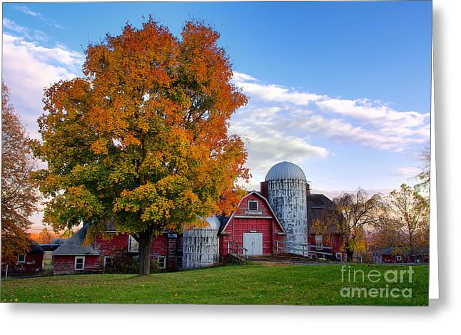 Autumn At Lusscroft Farm Greeting Card