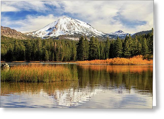 Autumn At Mount Lassen Greeting Card by James Eddy