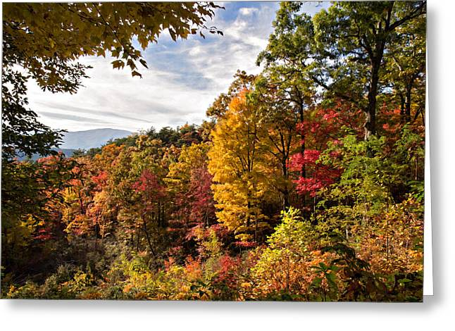 Autumn At Roaring Fork Greeting Card
