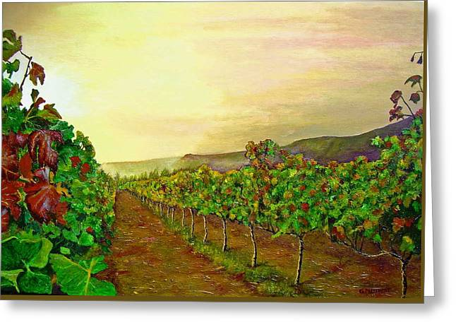Autumn At Steenberg Greeting Card by Michael Durst