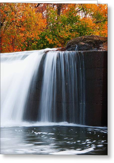 Autumn At Weisenberger Greeting Card by Wayne Stacy
