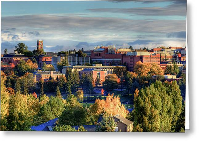 Autumn At Wsu Greeting Card