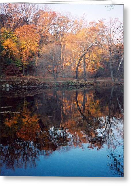 Autumn Banks Of The Brandywine Greeting Card