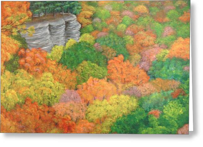 Autumn Beauty Greeting Card by Hollie Leffel