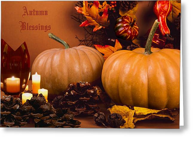 Autumn Blessings Greeting Card