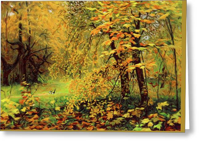 Autumn Bliss Of Color Greeting Card