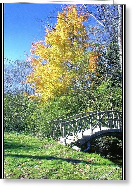 Autumn Brightness Greeting Card