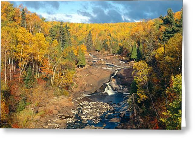 Autumn Color Along Beaver River Greeting Card