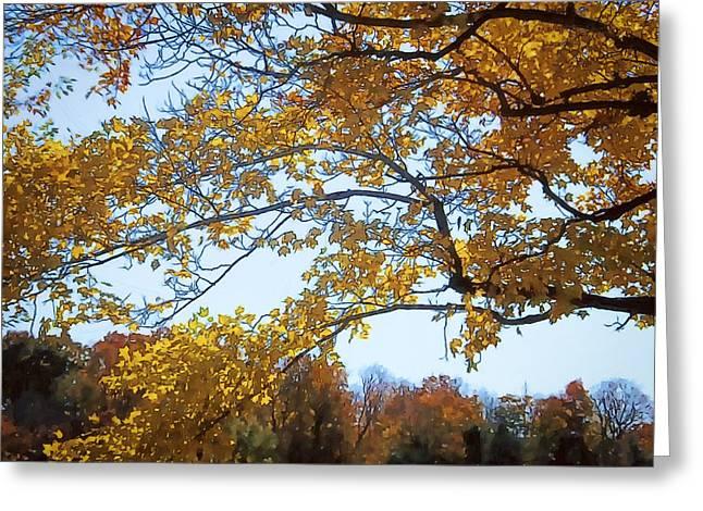 Autumn Cover Greeting Card by Jo-Anne Gazo-McKim