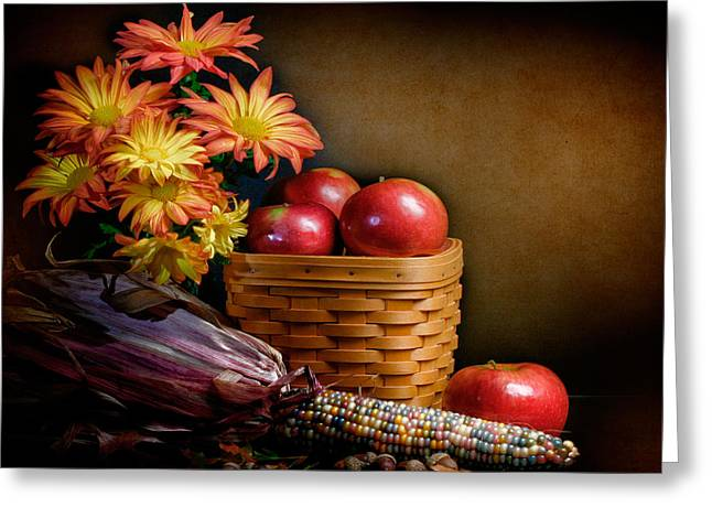 Autumn Greeting Card by David and Carol Kelly