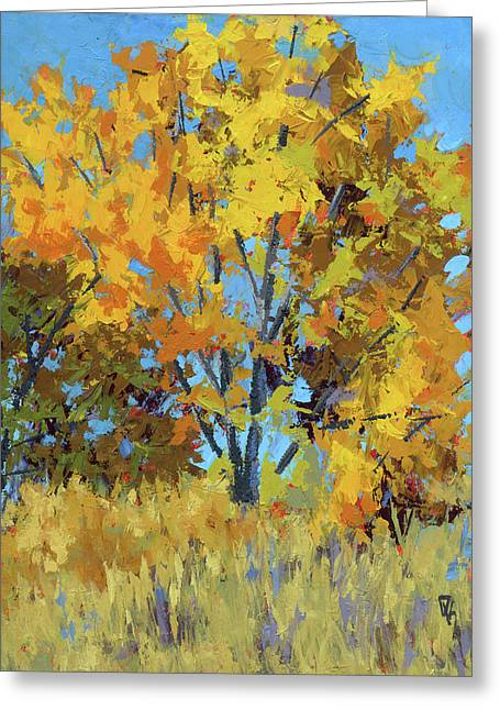 Autumn Delight Greeting Card by David King