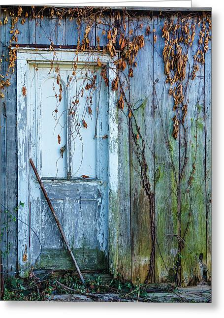 Autumn Door Greeting Card