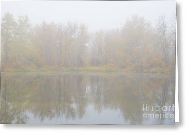 Autumn Dream Greeting Card by Mike Dawson