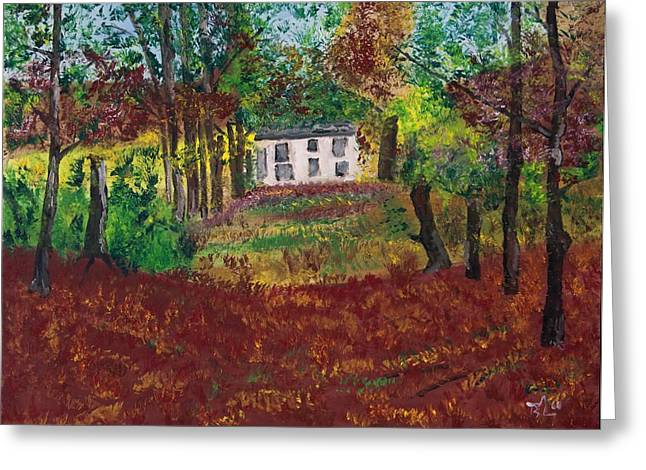 Autumn Dreams Greeting Card by James Bryron Love