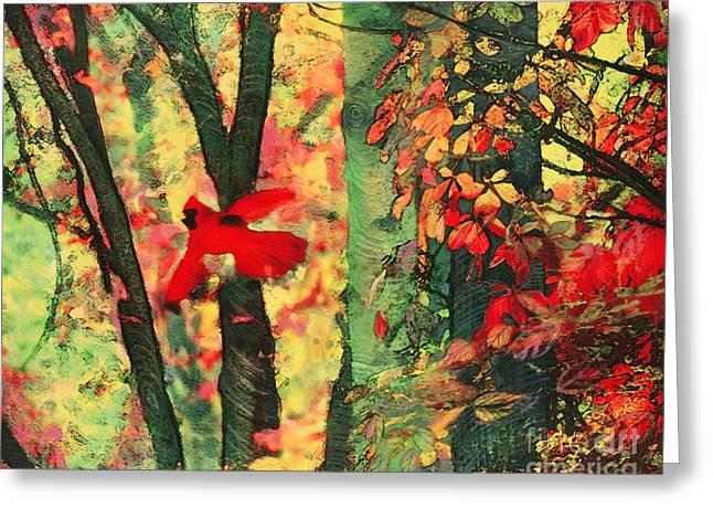 Autumn Flight Greeting Card